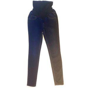 Jessica Simpson maternity skinny jeans dark wash